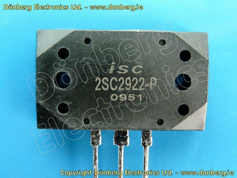 Semiconductor: 2SC2922 (2SC 2922) - TRANSISTOR SILICON NPN / 180V