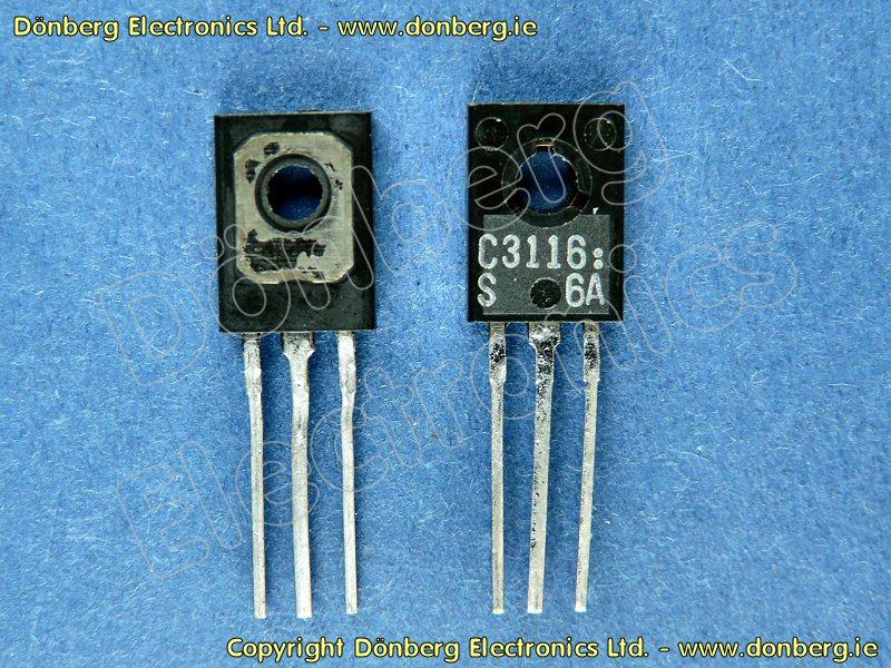 Semiconductor: 2SC3116 (2SC 3116) - TRANSISTOR