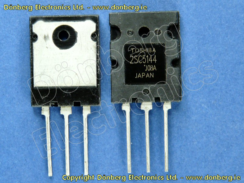 Semiconductor: 2SC5144 (2SC 5144) - TRANSISTOR SILICON NPN / 1700V