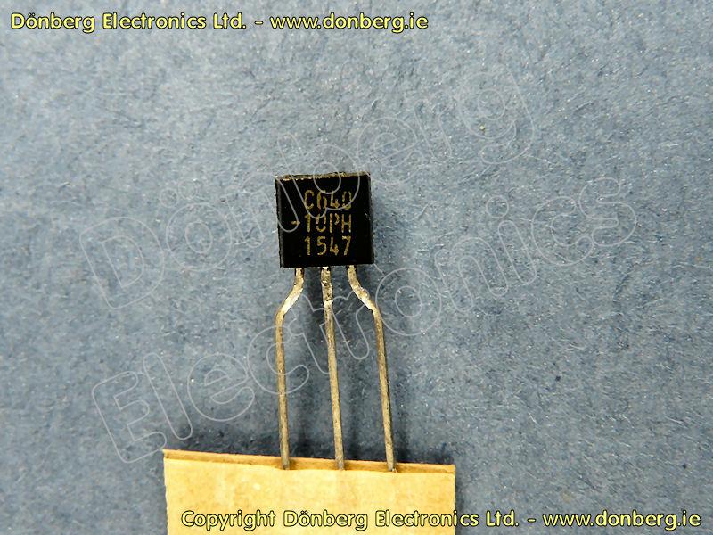 Semiconductor: 2SC640 (2SC 640) - NPN-SI TRANSISTOR