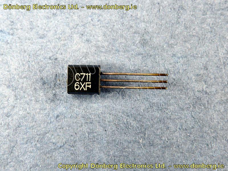 Semiconductor: 2SC711 (2SC 711) - SILICON NPN TRANSISTOR