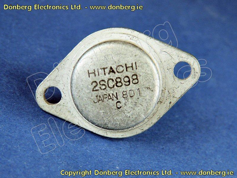 Semiconductor: 2SC898 (2SC 898) - TRANSISTOR SILICON NPN / 150V / 7A