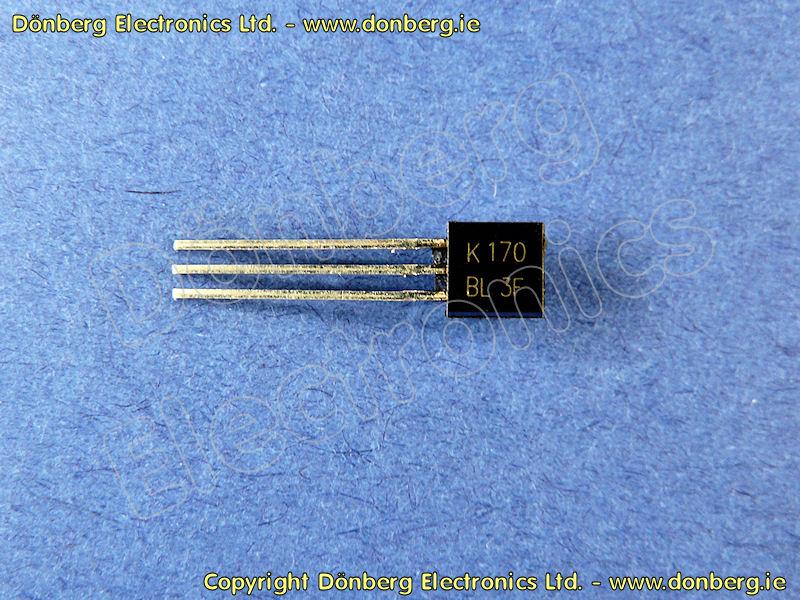 Semiconductor: 2SK170 (2SK 170) - N-CHANNEL JUNCTION FET