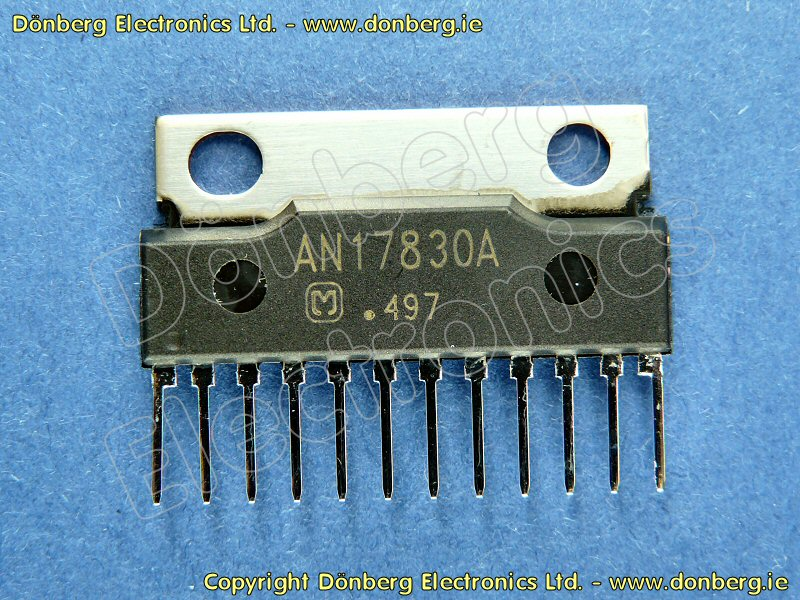 Semiconductor: AN17830 (AN 17830) - IC PHILIPS FWC355 / 22 = AN 17830A.