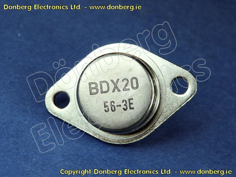 BDX-20 TRANSISTOR TO-3