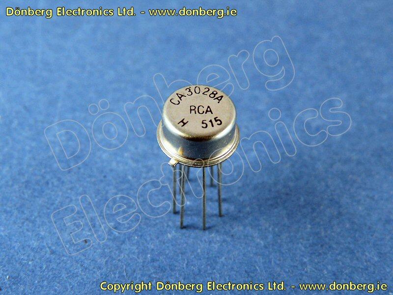 Semiconductor: CA3028A (CA 3028A) - LINEAR IC RCA