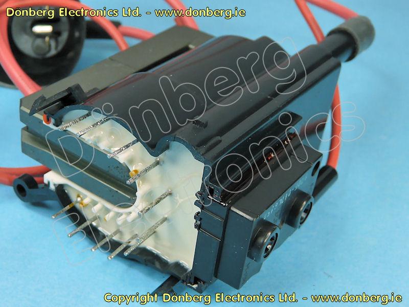 Line Output Transformer / Flyback: HR7243 (HR 7243) - 1-439