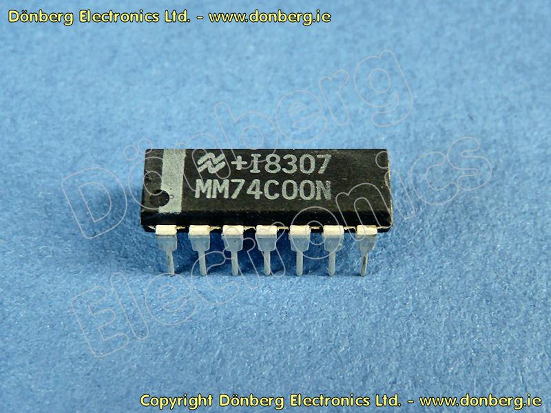 Mm74c00n fairchild semiconductor, mm74c00n datasheet.