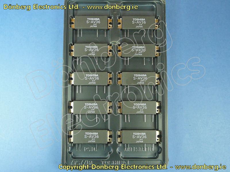 Semiconductor: S-AV36 - TOSHIBA RF-POWER AMPLIFIER MODULE