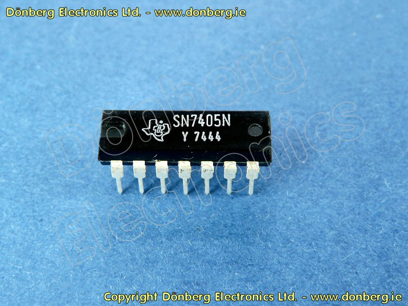 Semiconductor: SN7405 (SN 7405) - HEX INVERTERS OPEN COLLCTOR OUTPUT