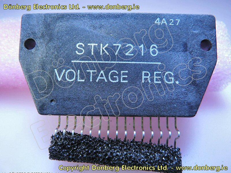 Semiconductor: STK7216 (STK 7216) - VTR REGULATOR.