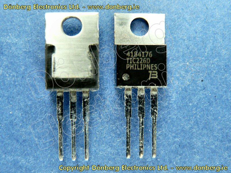TIC226D TRIAC TO-220